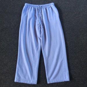5/$15 Vicki Wayne Light Blue Sweatpants L